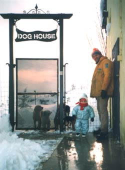 La neve imbianca Casa Calbucci