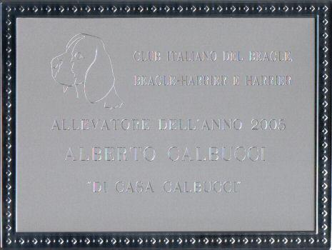 Allevatore dell'anno 2005